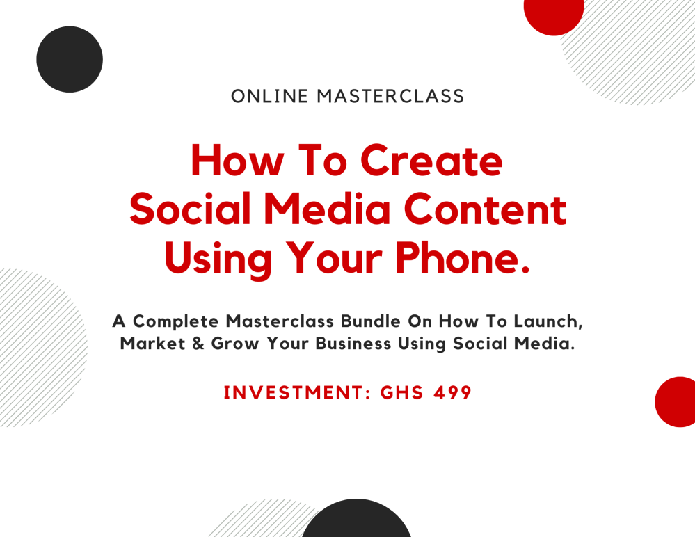 How To Create Social Media Content Using Your Phone
