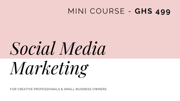 Copy of Social Media Marketing Course