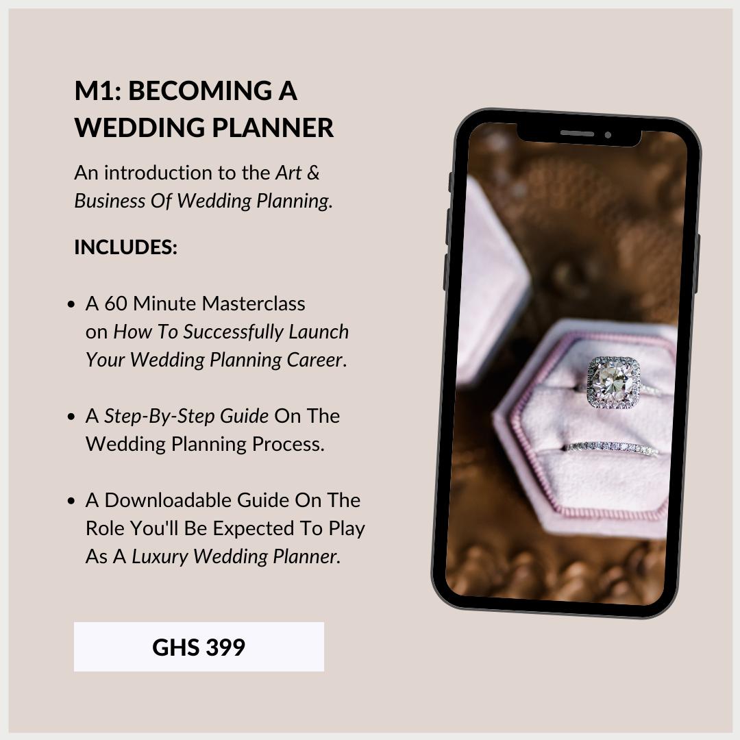 Wedding Planning Course In Ghana 1