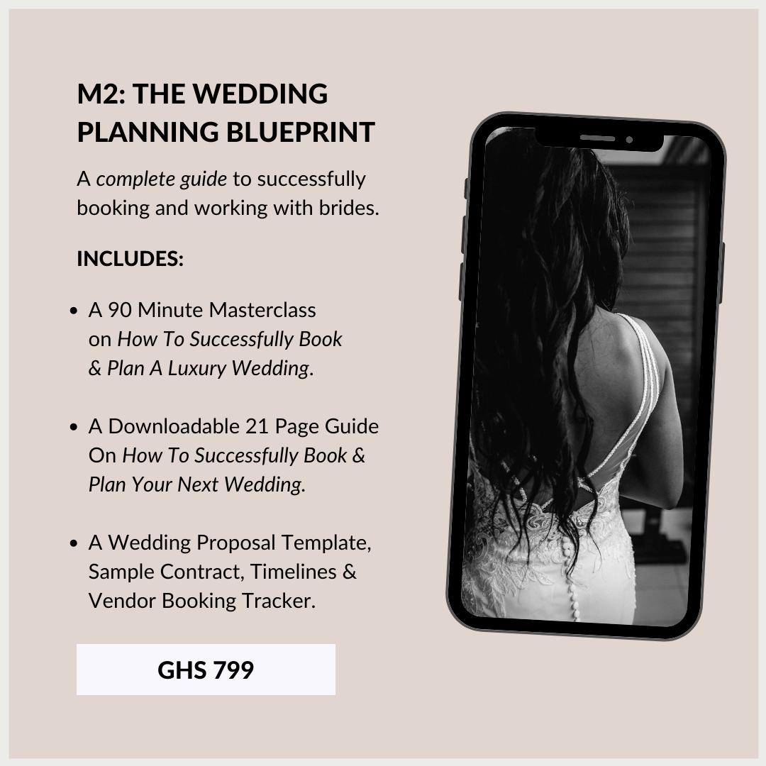 Wedding Planning Course In Ghana 2