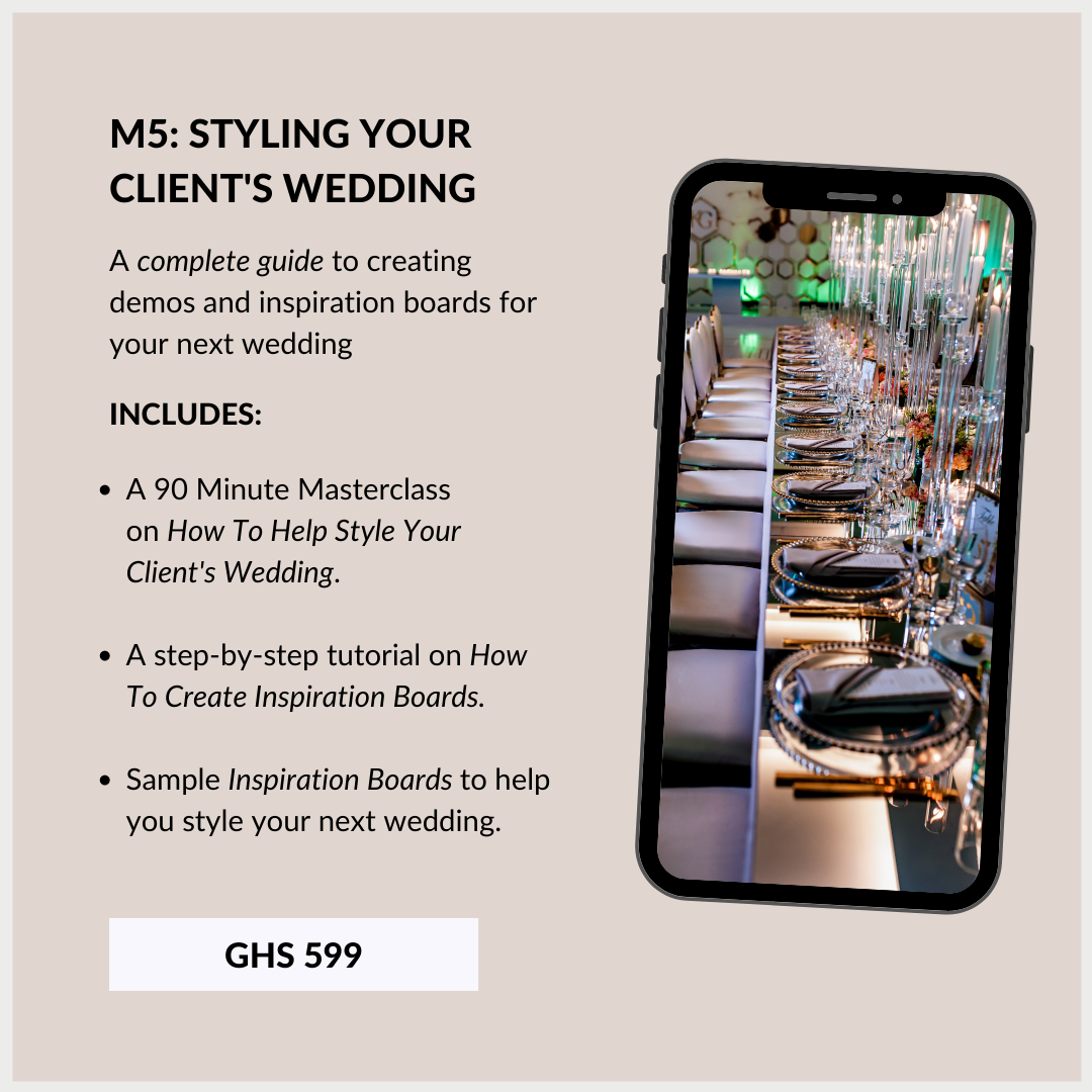 Wedding Planning Course In Ghana 5