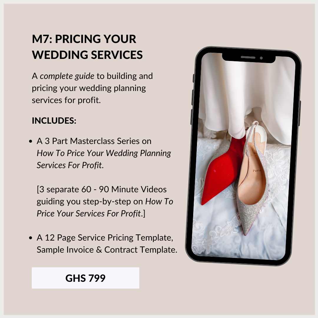 Wedding Planning Course In Ghana 7