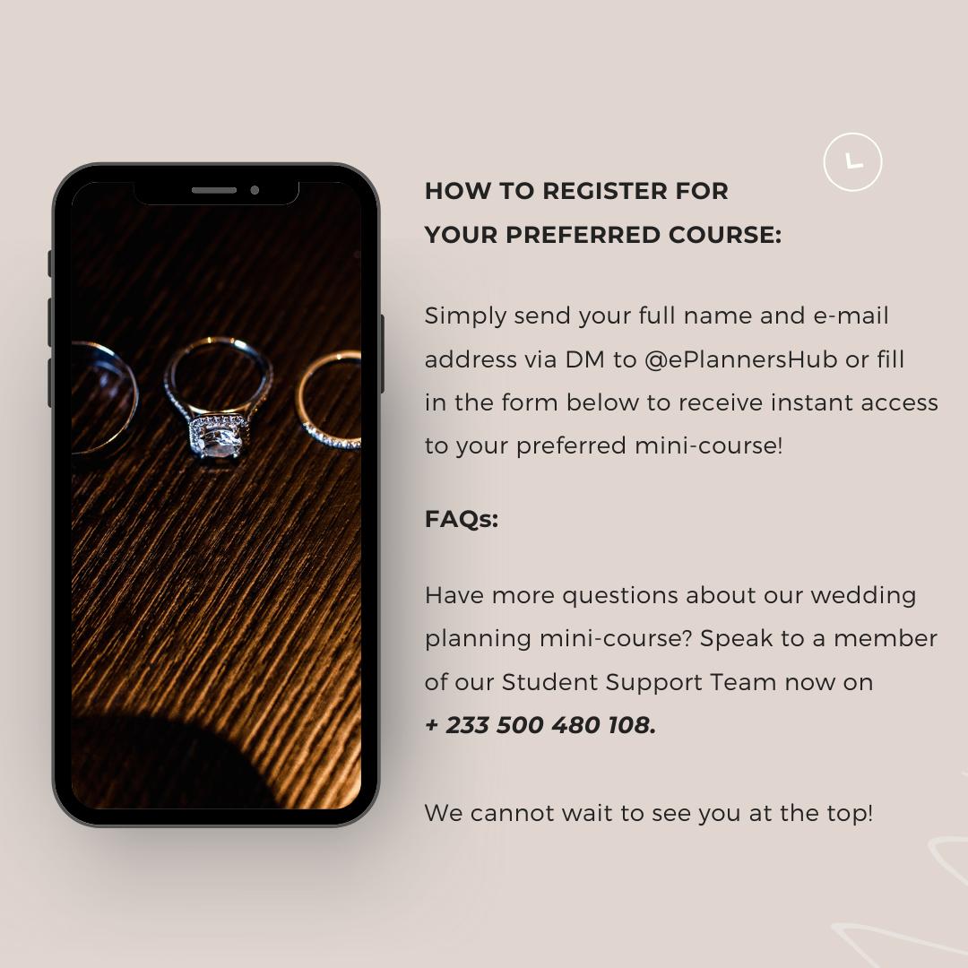 Wedding Planning Course In Ghana 8